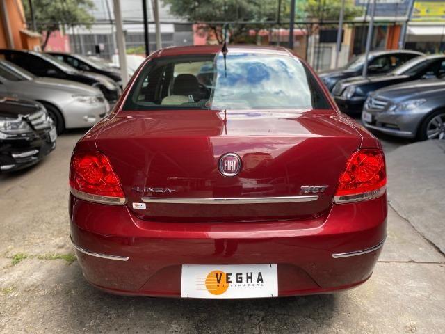 Fiat Linea T-Jet 1.4 Turbo 2010/2010 - Top de linha, interior Bege, financiamos! - Foto 13