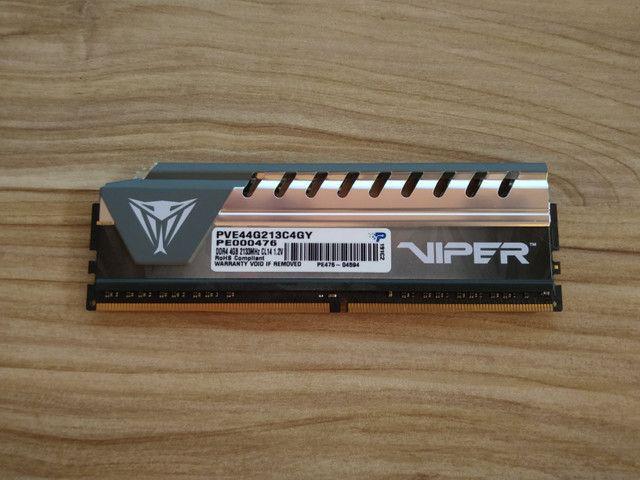 Memória Ram DDR4 4gb - Foto 2