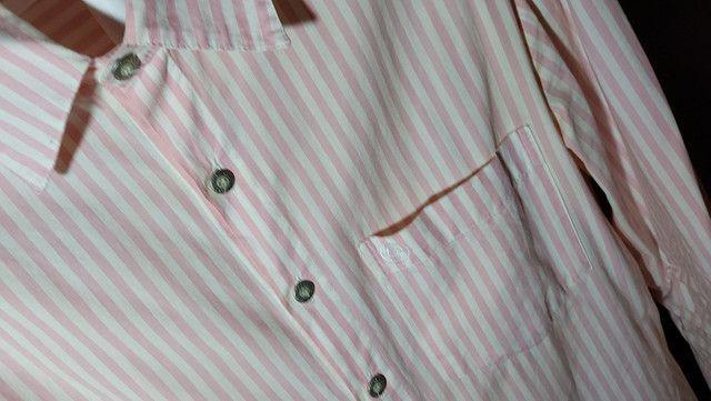 2 Camisas manga longa Contraponto e 1 manga curta Crawford (R$30 cada) - Foto 4