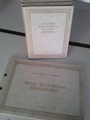 Coleção Grandes Personagens da Nossa História 5 volumes - Foto 2