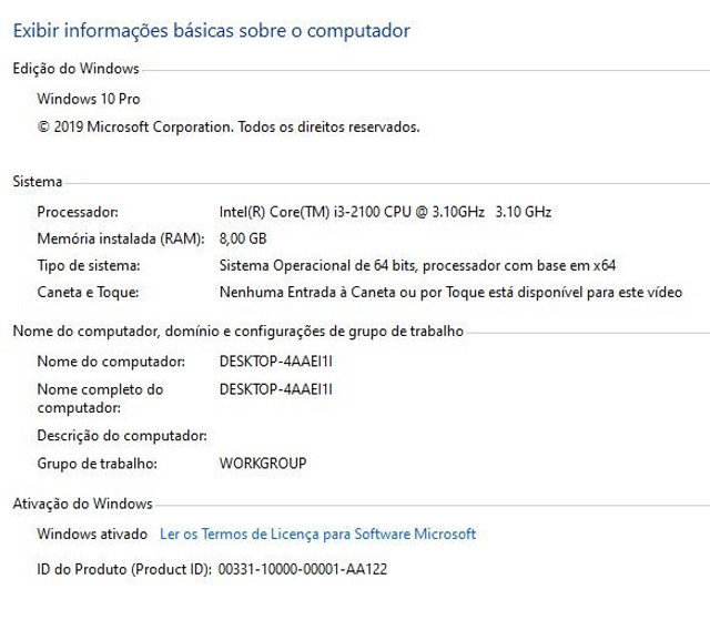 PC Top, Gabinete Gamer I3 3,1Ghz - Foto 5