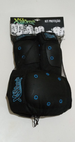 Kit Proteção Skate X-Seven - NOVO - Tam: M - Foto 2