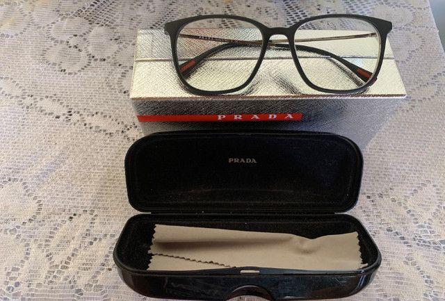 Armação Óculos Prada Modelo Dg01o1 Original - Foto 5