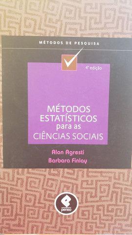 Livro métodos estatísticos para as ciências sociais - Foto 2