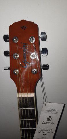 Violão elétrico Giannini  - Foto 5