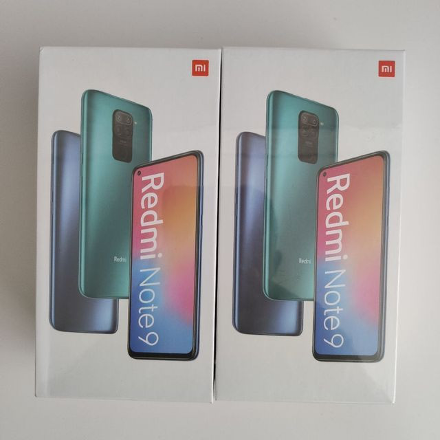 Redmi Note 9. Estupendo Da Xiaomi!!!Novo lacrado com garantia e entrega imediata