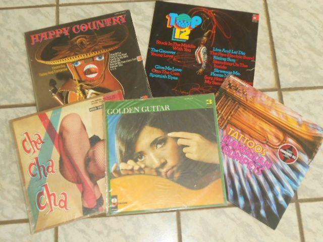 LPs - Happy Country e Outros (Liquida: 5 LPs)
