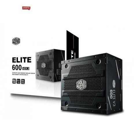 Fonte Cooler Master Elite V3 600W