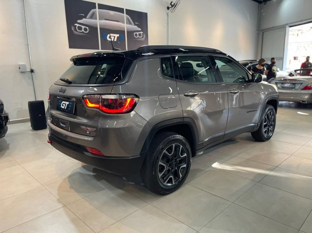 Jeep Compass Trailhawk 2.0 Diesel 4x4 AT 2019/19 Único Dono - Foto 12