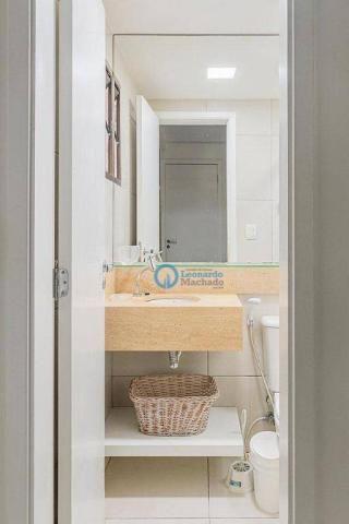 Apartamento com 4 dormitórios à venda, 176 m² por R$ 999.000 - Porto das Dunas - Aquiraz/C - Foto 3