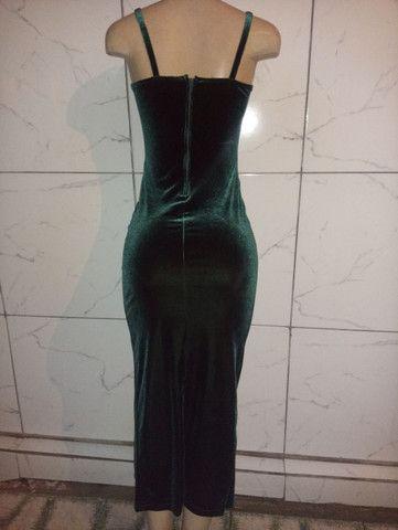 Vestido de festa novo 1x de uso - Foto 2