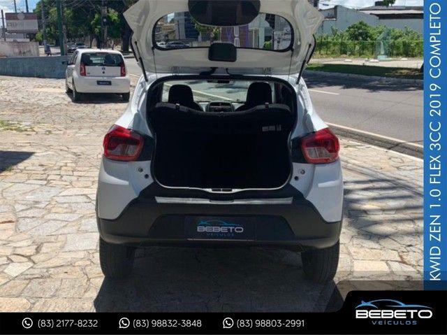 Renault Kwid Zen 1.0 Flex 2019 Completo - Foto 6