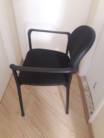 Cadeira para escritório fixa - Foto 4