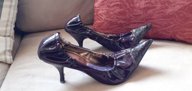 Sapato de salto com elástico  - Foto 5