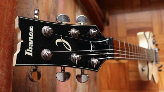 Kit Guitarra Ibanez ART120 Les Paul + Bag Premium + Cabo + Correia Planet Waves - Foto 4