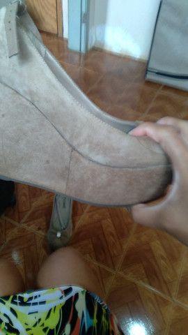 Sapato plataforma tamanho 36 - Foto 2