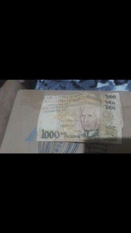 Cédulas  de dinheiro  antigo - Foto 6