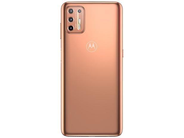 Smartphone Motorola Moto G9 Plus 128GB Ouro Rosê<br><br> - Foto 6
