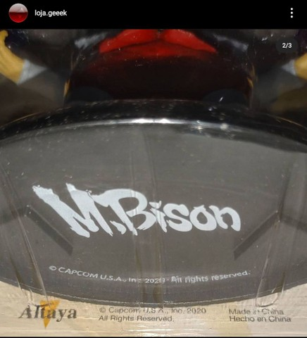 Miniatura Street fighter M.Bison + fascículo - Foto 3