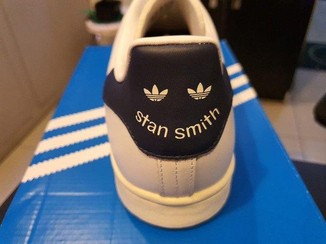 Tenis adidas - stan smith - original/novo - 43(11 1/2) - Foto 3