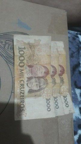 Cédulas  de dinheiro  antigo - Foto 4