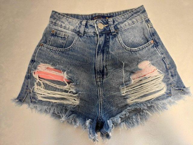 Short Blue Steel Jeanswear - Foto 2