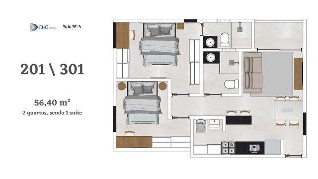 Oportunidade nos Bancário - Apartamento com 1 e 2 quartos - Próximo do shopping Sul  - Foto 5