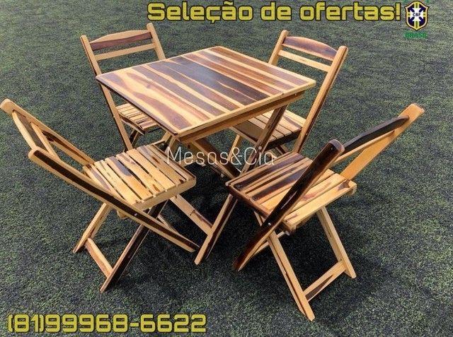 Mesa e cadeira para sua Loja