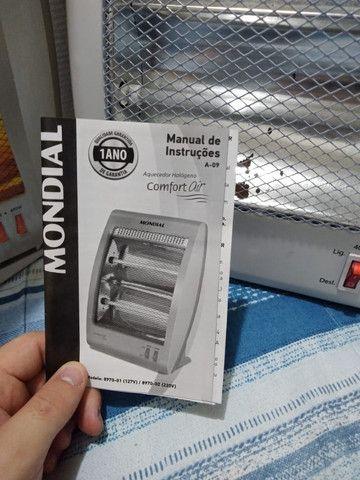 Aquecedor Halógeno Comfort Air, Mondial, A-09 - Foto 5