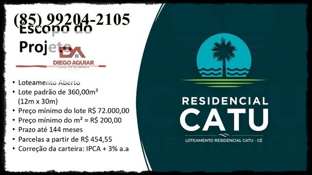 Loteamento Residencial Catu &¨%$ - Foto 5