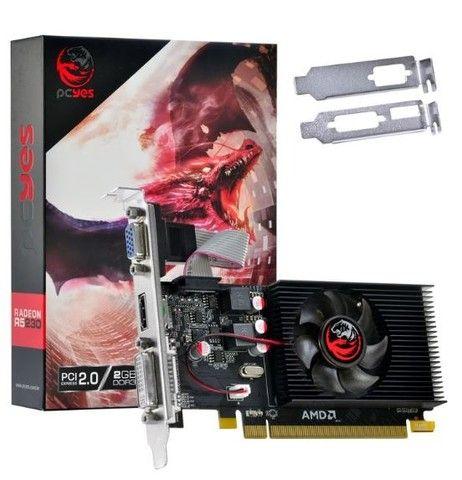 Placa de video Amd Radeon R5 230 2Gb Ddr3 64 Bits - Foto 2