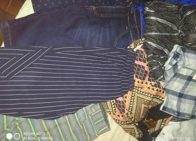 Vendo todas essas roupas sendo q  tem novo e usado - Foto 4
