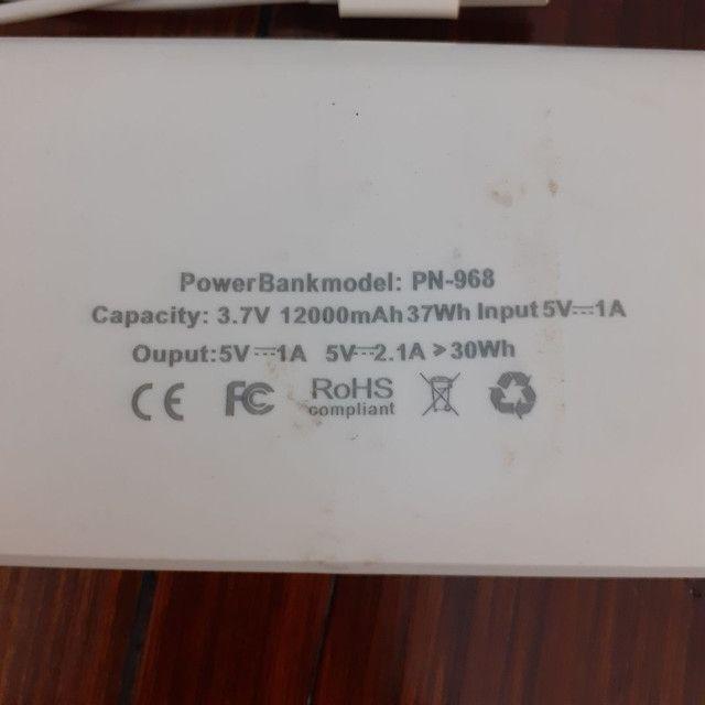 Power Bank PN-968 12.000mAh - Foto 4