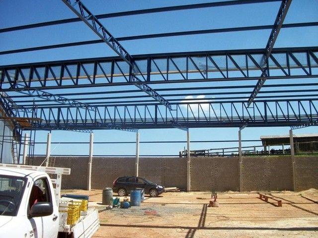 Galpão metálico para construção preços imbatíveis  - Foto 6