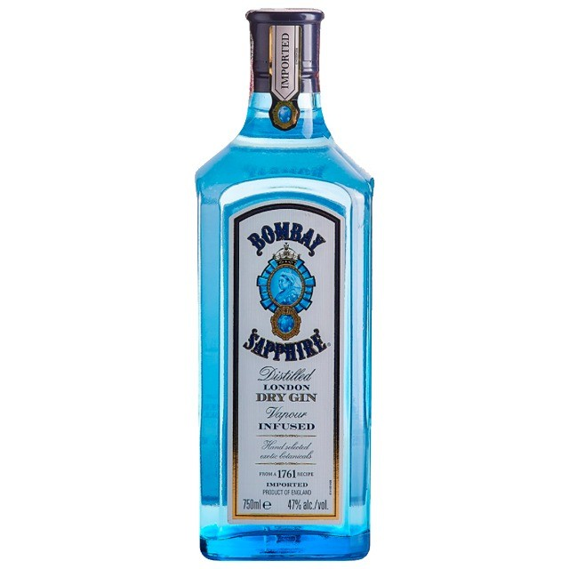 Gin Bombay Saphire 750ml + 5 Água Tônica + 5 Sachês - Foto 2
