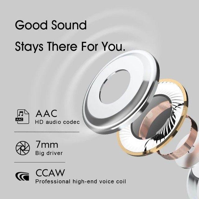 Fone de ouvido QCY-HT01 Promoção APTx-30h ANC - Foto 3