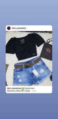Shortinho jeans Miller - Foto 4