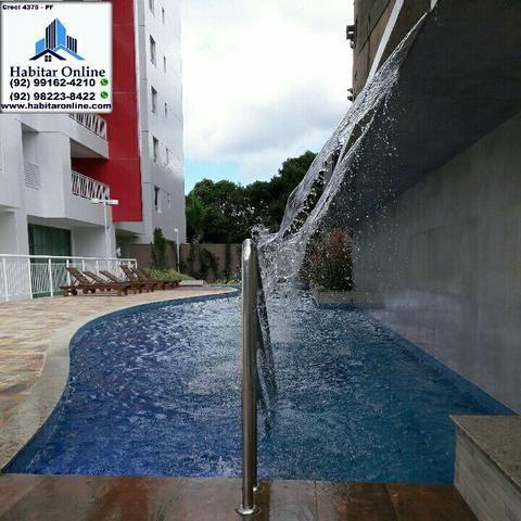 Smart Residence Centro sol nascente 2 quartos s/ 1 suite 2 vagas - Foto 2