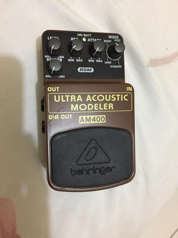 Pedal ultra acoustic