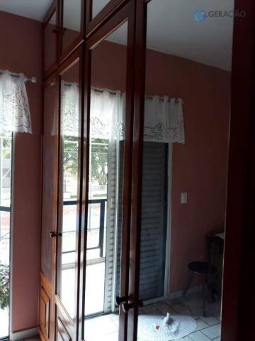 3 dormitórios amplos com armários planejados todos com sacada sendo 01 suíte com ar condic - Foto 8