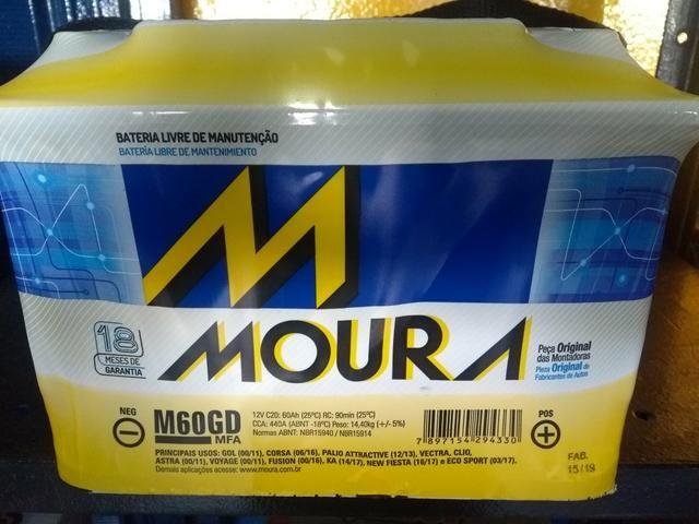 Bateria Moura 60ah (Leia todo o anúncio)