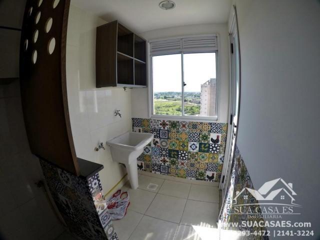 Apartamento à venda com 2 dormitórios em Morada de laranjeiras, Serra cod:AP143GI - Foto 3