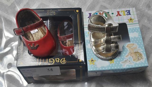 a058f42cb Kit de sapato para bebe (Vendo individual, nao precisa comprar o kit todo)