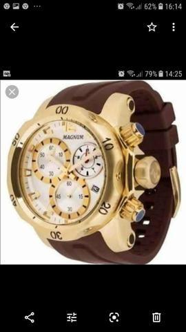 ee86c7b7a4e Relógio Magnum MA33755B - Bijouterias, relógios e acessórios ...