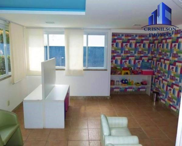 Apartamento à venda prime ville, alphaville i salvador, nascente, 2/4 sendo 1 suíte, 2 gar - Foto 8