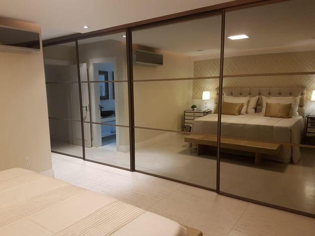 Apartamento Lumno 4 Suítes 276m2 Alto 4 vagas Decorado Nascente linda vista mar - Foto 17