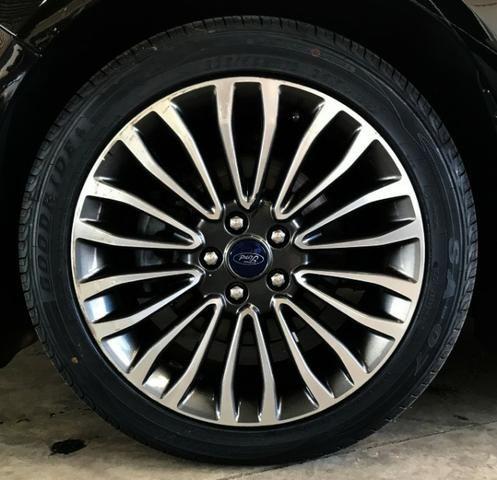 Ford Fusion Titanium Awd C/ Teto Solar 2.0. Preto 2016/2017 - Foto 5