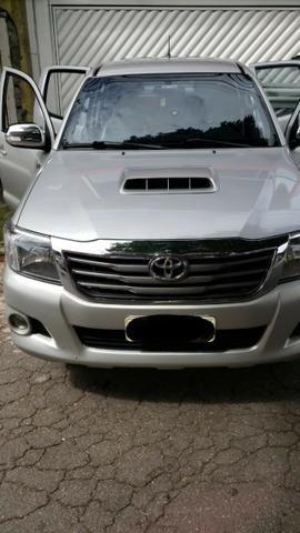 Toyota Hylux CD 3.0 SR 4 x 4, Ano 2013, Òtimo Estado, Aceito Troca - Foto 5