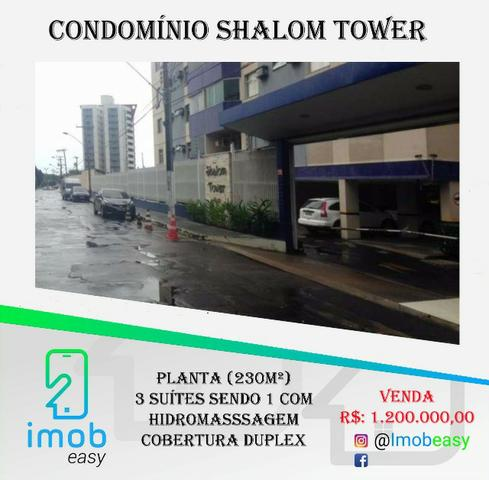 Cobertura Duplex Shalom Tower, 3 suítes, varanda com hidromassagem
