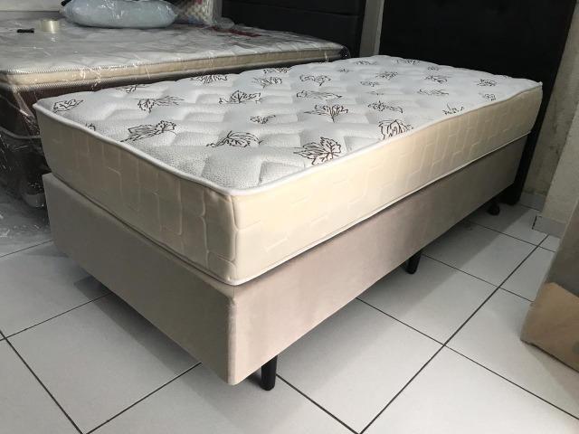 Cama Box Solteiro Umaflex em Molas - Peça Nova! - Foto 3